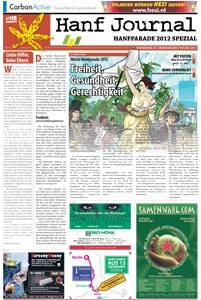 Cover Grafik der Hanf Journal Sonderausgabe zur Hanfparade 2012