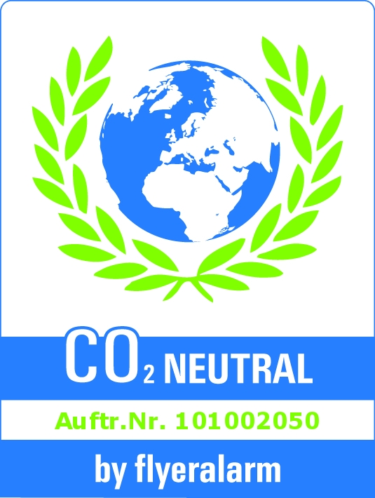 CO2-Zertifikat von flyeralarm.de
