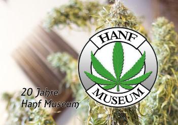 Titelblatt der Chronik 20 Jahre Hanf Museum