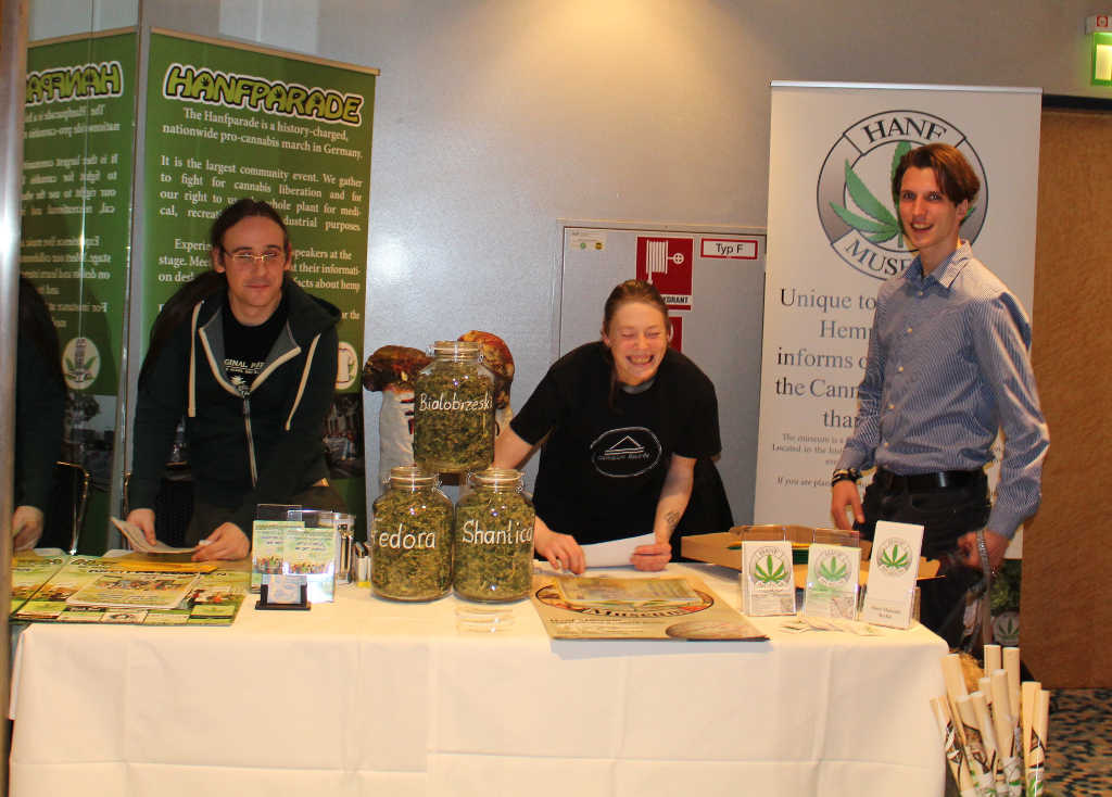 Photo Hanfparade bei der ICBC International Cannabis Business Conference