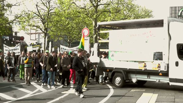 Foto vom Global Marijuana March 20156 in Erlangen