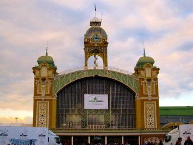 Foto von der Messehalle