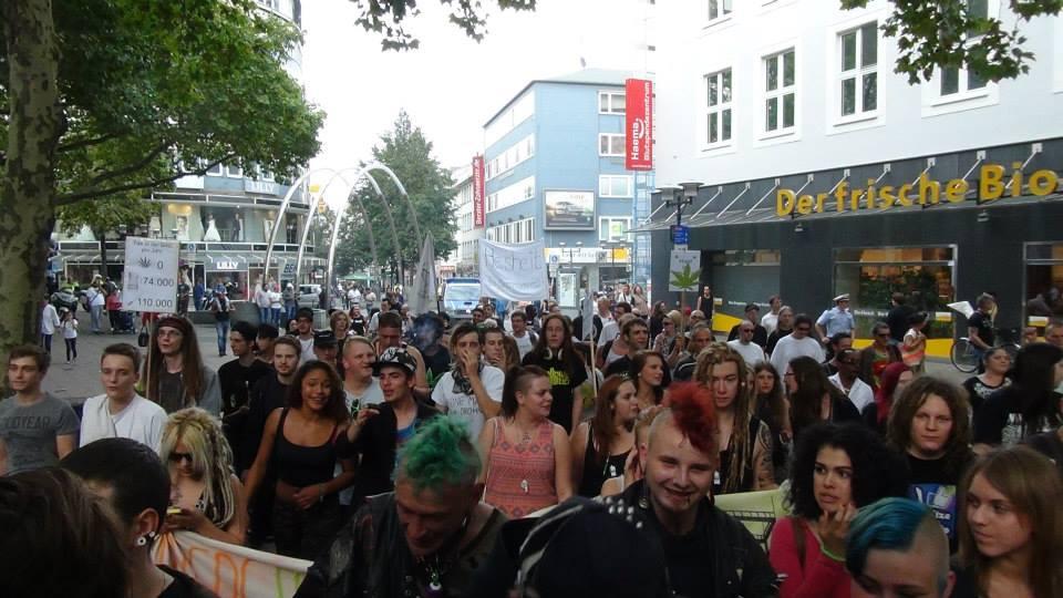 Foto von der Menschenmenge