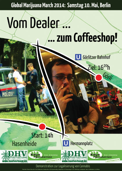 Flyer des GMM 2014 in Berlin