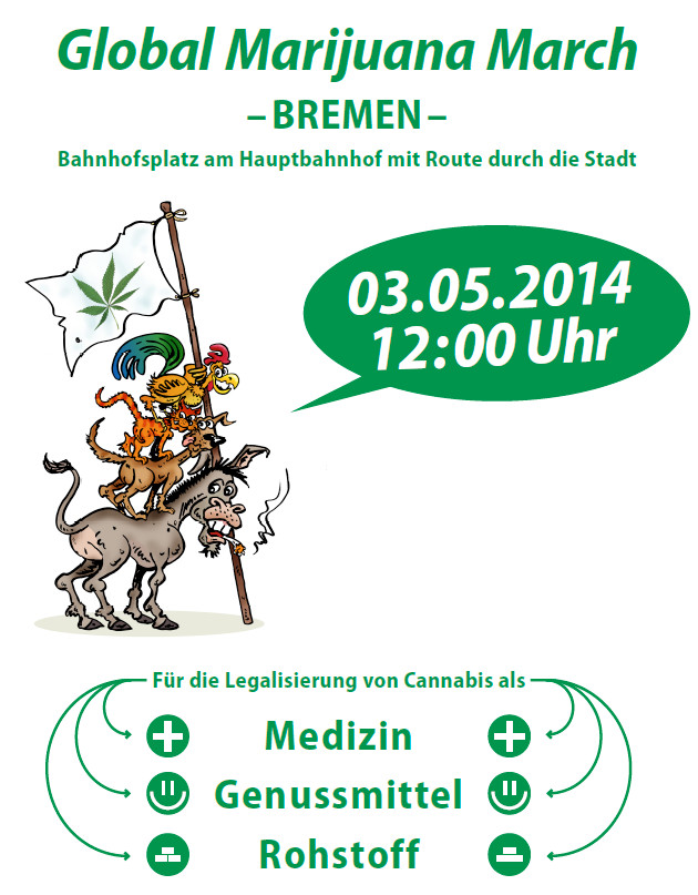 Flyer des GMM 2014 in Bremen