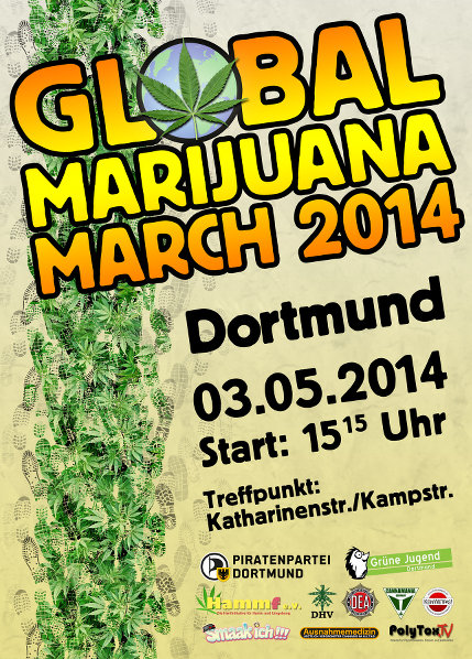 Flyer des GMM 2014 in Dortmunt
