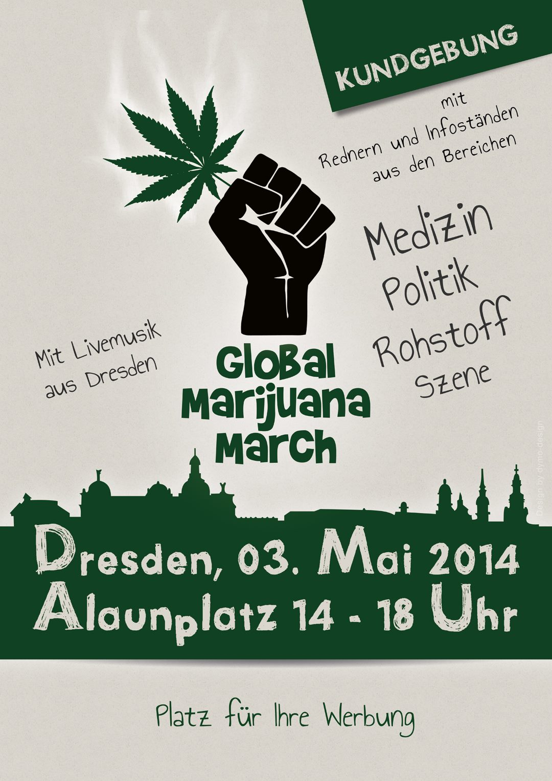 Flyer des GMM 2014 in Dresden