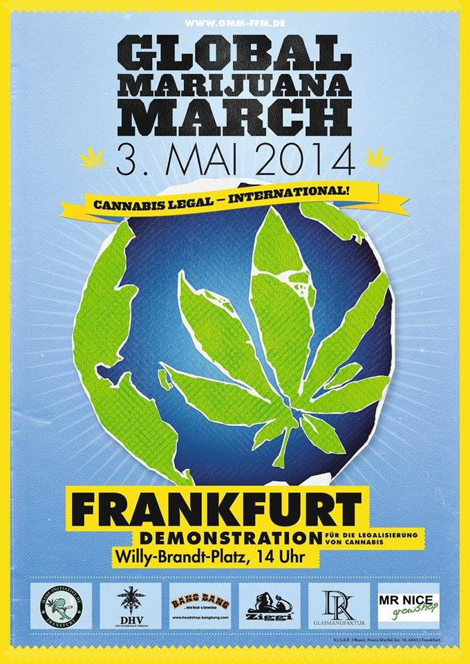 Flyer des GMM 2014 in Frankfurt am Main