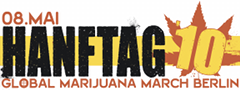 Aktueller Banner des Hanftag (Global Marijuana March Berlin)