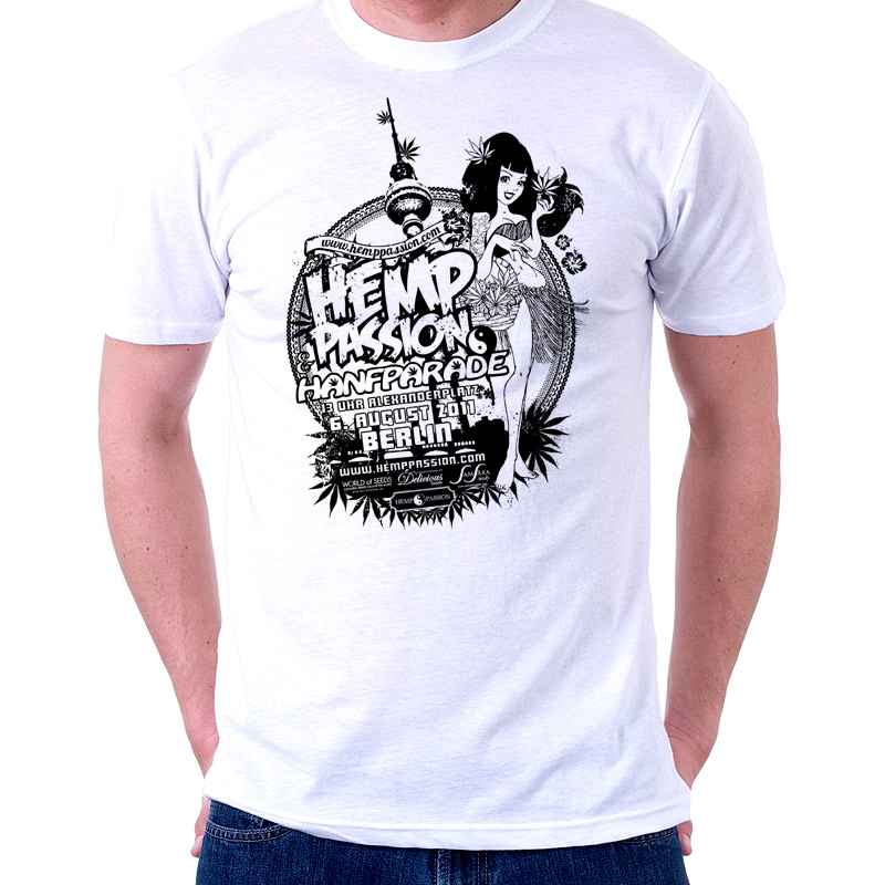 Soli-T-Shirt Hemp Passion/Hanfparade