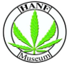 Hanf Museum Berlin, Logo mit Cannabisblatt