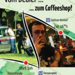 Flyer des Global Marijuana March 2014 Berlin