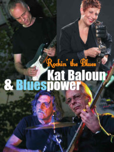 Band Foto von Kat Balouns Blues Power zur Hanfparade 2015