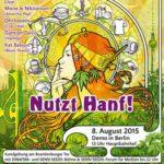 Poster Grafik der Hanfparade 2015