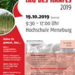 Infoplakat Tag des Hanfes 2019 HS Merseburg