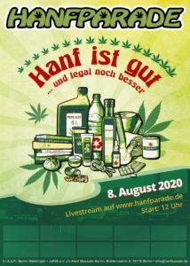Hanfparade 2020 Poster