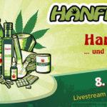 Hanfparade 2020 Webbanner Info zum Livestream
