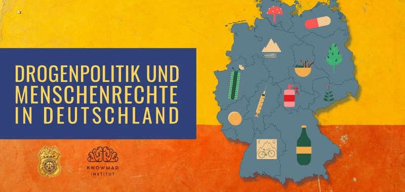 Grafik zur Umfrage zu Drogenpolitik und Menschenrechte in Deutschland