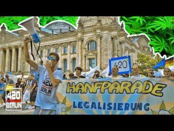 Joints am Bundestag - 8.000 Leute vernebeln Berlin auf der Hanfparade 2019