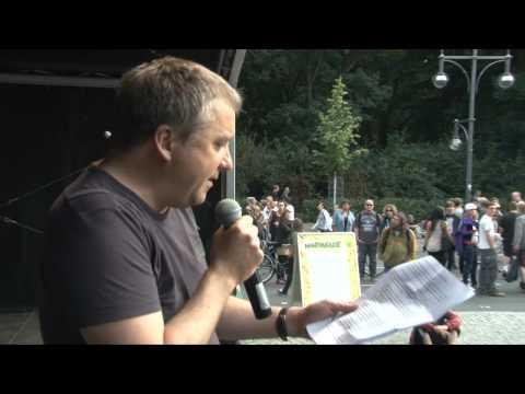 Tibor Harrach: Pharmazeut und LAG Drogenpolitik bei Bündis90/Die Grünen - Hanfparade 2012