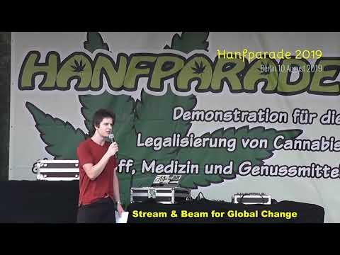 Hanfparade 001 Eröffnung