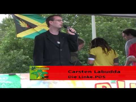 Carsten Labudda - Die Linke.PDS - Hanfparade 2005