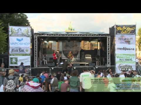 Hanfparade 2014: Michael Knodt - Journalist, Moderator Exzessiv - Das Magazin