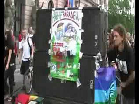 Hanfparade 2008 - Demo für die Legalisierung von Cannabis
