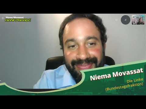 Niema Movassat - Die Linke (Bundesfraktion) - Hanfparade 2020