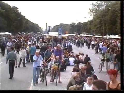 Mit Hanf in die Zukunft - Hanfparade 1999 in Berlin - Rohschnitt