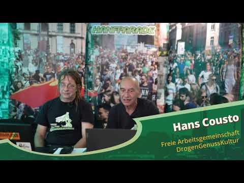Hans Cousto - Hanfparade 2020 - Aktivismus in der Schweiz