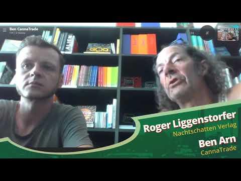 Roger Liggenstorfer (Nachtschatten Verlag) und Ben Arn (CannaTrade) - Hanfparade 2020