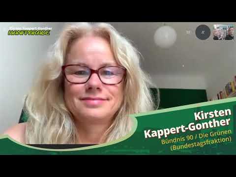 Kirsten Kappert-Gonther (Bündnis 90 Die Grünen Bundesfraktion) - Hanfparade 2020