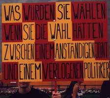 Hanfparade 2000 - Verlogener Politiker oder Anständiger Joint?