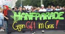 Hanfparade 2007 – Leittranspararent der Demonstration