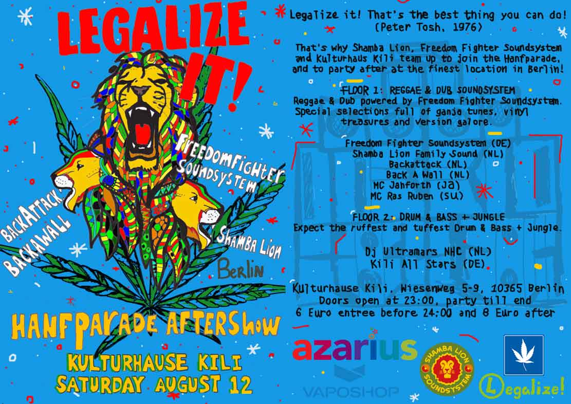Logo von der Legalize Afterparty 2017