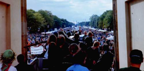 Hanfparade1998 Demonstration