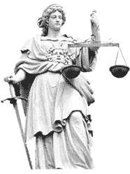 Justizia - römische Göttin der Gerechtigkeit und des Rechtswesens