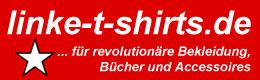 Grafik Banner des Linker Drucker Linke Tshirts Versand