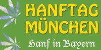Banner zum Hanftag in München