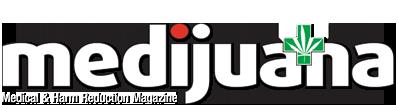 Grafik Banner des Medijuana Magazin über Cannabis als Medizin und Harm Reduction