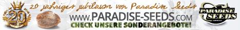 Grafik Banner von Paradise Seeds