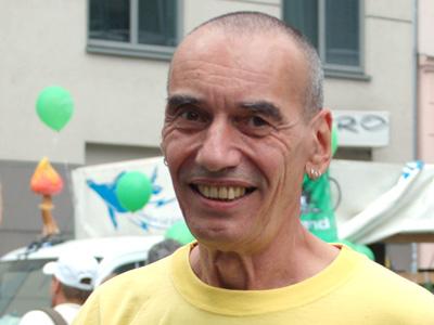 Hans Cousto auf der Hanfparade 2010