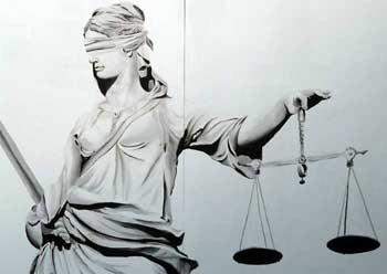 Justizia - von Hans Braxmeier