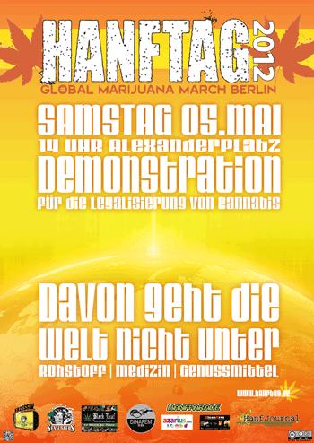 Poster des Hanftags 2012