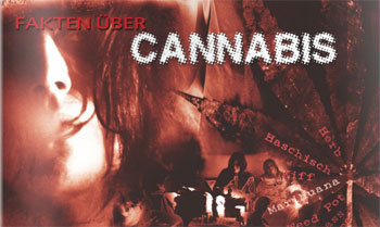 Titelblatt einer Cannabis-Informationsbroschüre