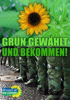 Grün gewählt und bekommen? - Satire zur Bundestagswahl 2005