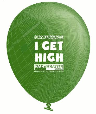 Symbolabbildung des Ballons mit Logoaufdruck