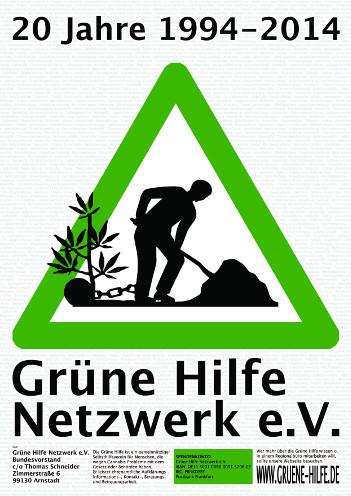 """Plakat """"20 Jahre Grüne Hilfe"""""""