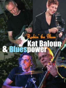 Band Foto von Kat Balouns Blues Power zur Hanfparade 2015